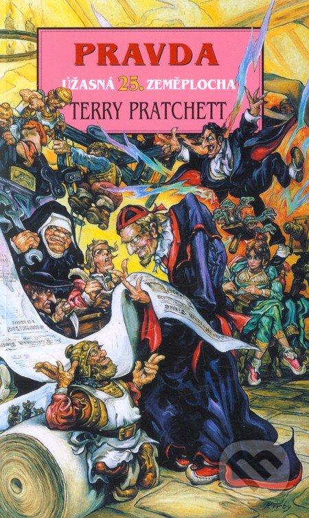 Úžasná Zeměplocha - Pravda - Terry Pratchett