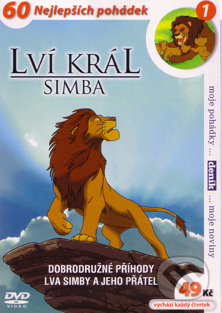 Lví král - Simba 1 DVD