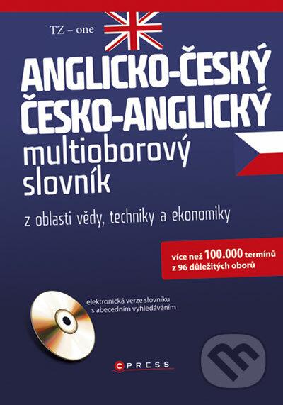 Anglicko-český, česko-anglický multioborový slovník -