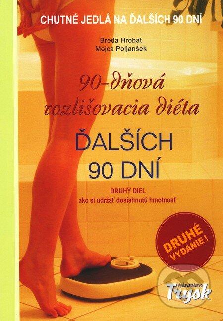 90-dňová rozlišovacia diéta - Ďalších 90 dní (Druhé vydanie) - Breda Hrobat, Mojca Poljanšek