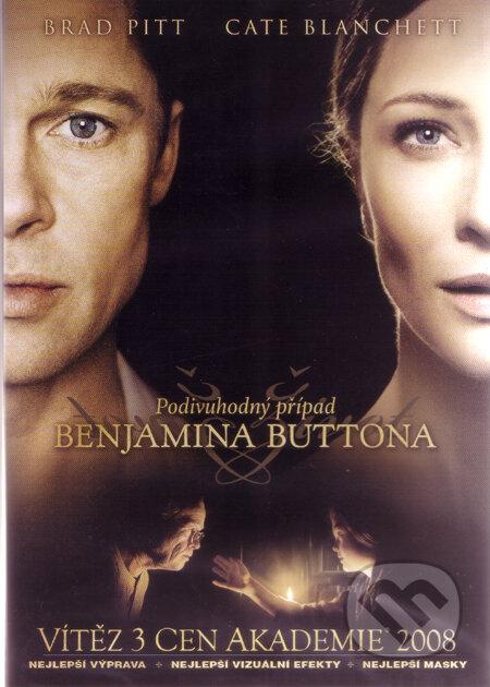 Podivuhodný případ Benjamina Buttona (1 DVD) DVD