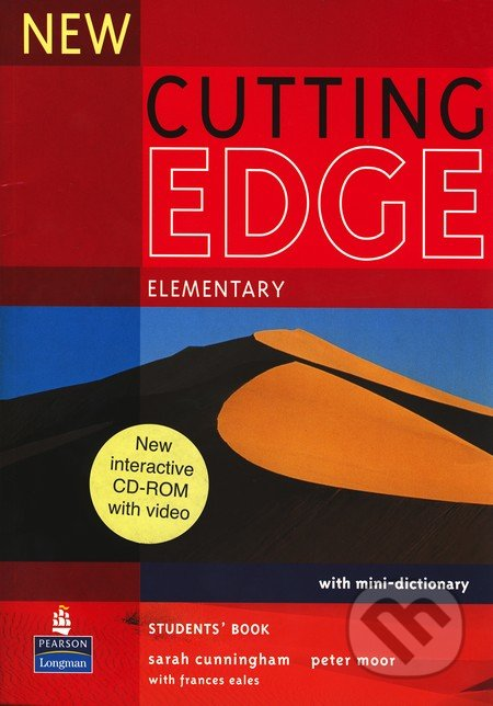 New Cutting Edge - Elementary: Student\'s Book + interactive CD-ROM with video - Sarah Cunningham, Peter Moor