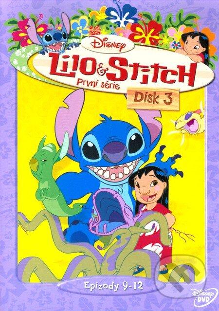 Lilo a Stitch - 1. séria Disk 3 DVD