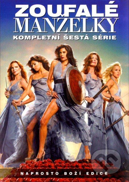 Zoufalé manželky 6. série DVD