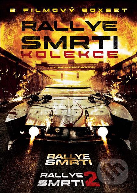 Rallye smrti + Rallye smrti 2 - 2 DVD DVD