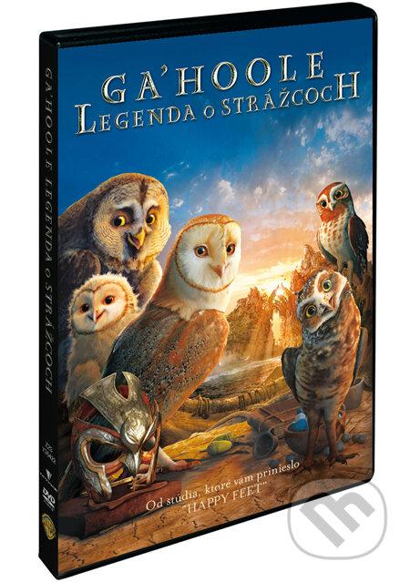 Legenda o sovích strážcích DVD