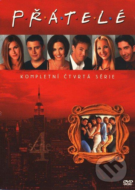 Přátelé - 4. série DVD