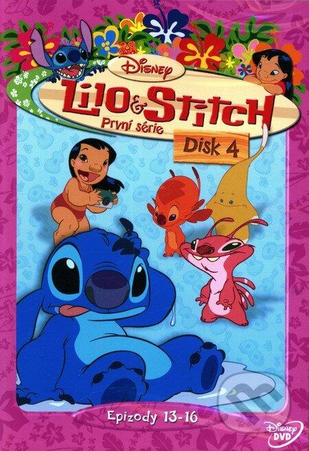 Lilo a Stitch - 1. séria Disk 4 DVD