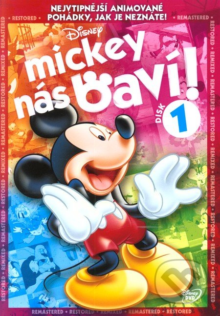 Mickey nás baví! - 1 DVD