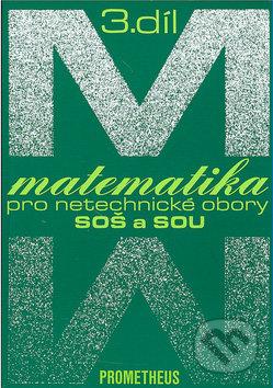 Matematika pro netechnické obory SOŠ a SOU, 3.díl - Náhled učebnice