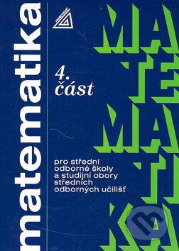 Matematika pro střední odborné školy a studijní obory středních odborných učilišť, 4. část - Náhled učebnice