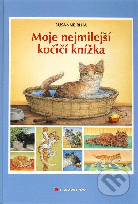 Moje nejmilejší kočičí knížka - Susanne Riha