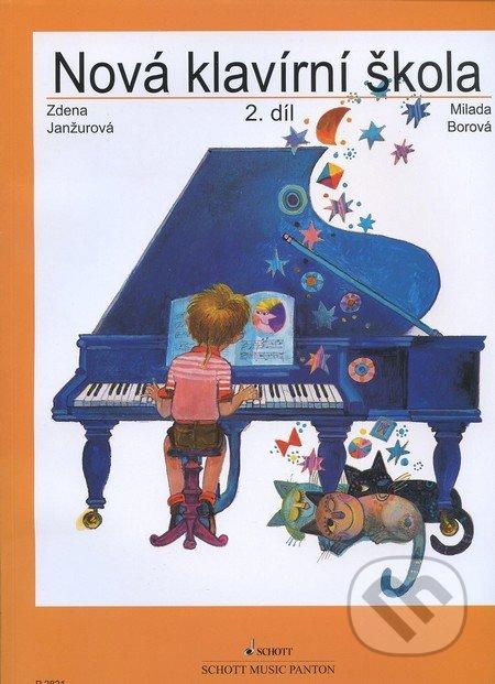 Nová klavírní škola (2. díl) - Zdena Janžurová