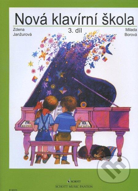 Nová klavírní škola (3. díl) - Zdena Janžurová