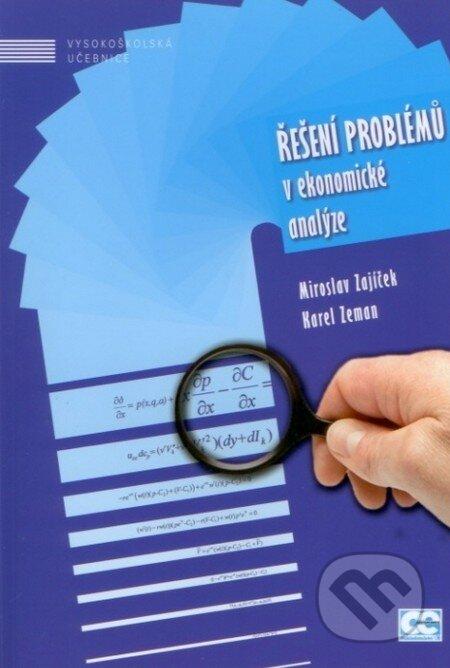 Řešení problémů v ekonomické analýze - Miroslav Zajíček, Karel Zeman