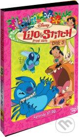 Lilo a Stitch - 1. séria Disk 5 DVD