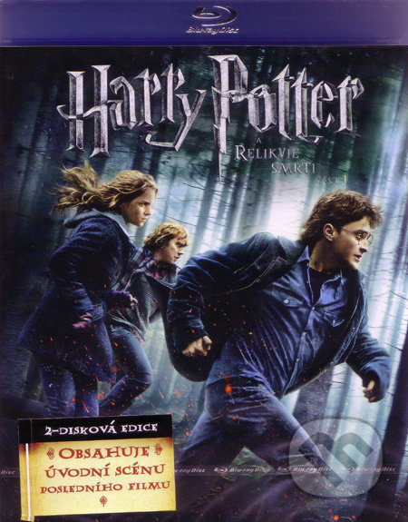 Harry Potter a Dary Smrti 1 BLU-RAY