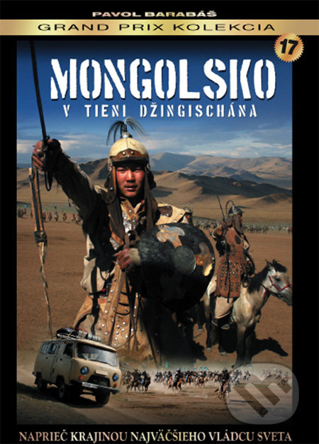 Mongolsko - V tieni Džingischána DVD