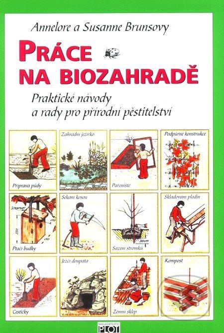 Práce na biozahradě -