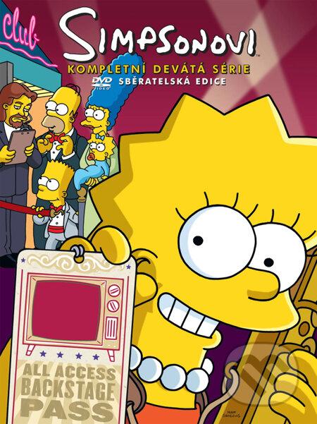 Simpsonovci – 9. séria DVD