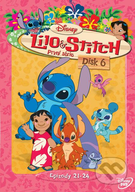 Lilo a Stitch - 1. séria Disk 6 DVD