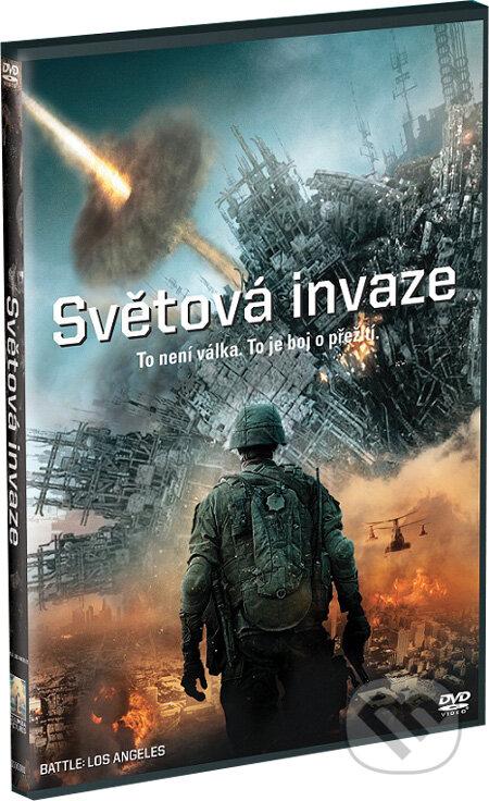 Světová invaze DVD