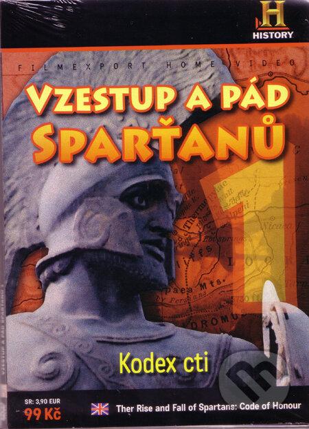 Vzestup a pád Sparťanů 1 - Kódex cti DVD
