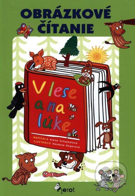 Obrázkové čitanie V lese a na lúke - Alena Schejbalová