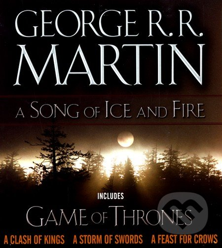 A Song of Ice and Fire - Book Boxed Set (1-4) - George R.R. Martin
