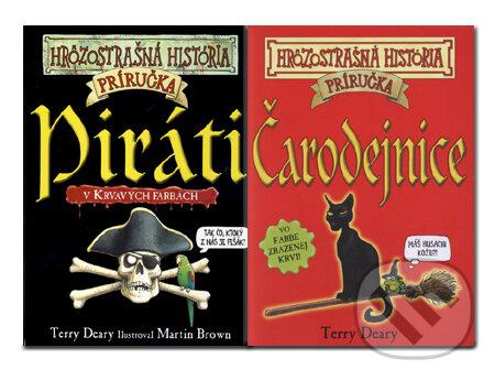 Piráti + Čarodejnice - Terry Deary