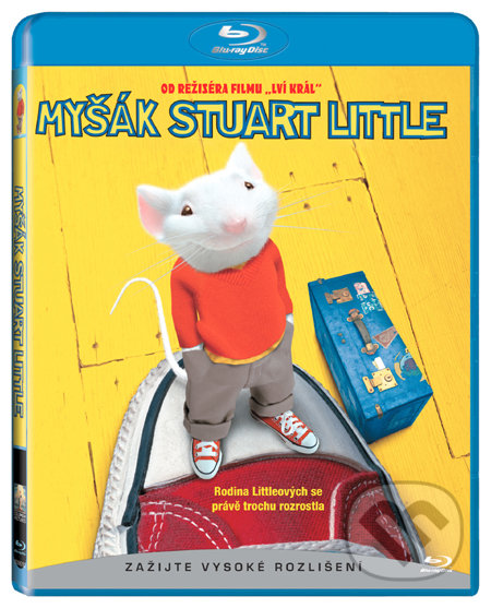 Myšák Stuart Little BLU-RAY