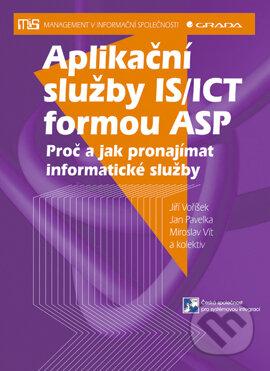 Aplikační služby IS/ICT formou ASP - Jan Pavelka, Jiří Voříšek