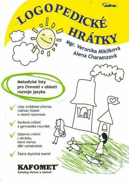 Logopedické hrátky - Alena Charamzová, Veronika Miklíková