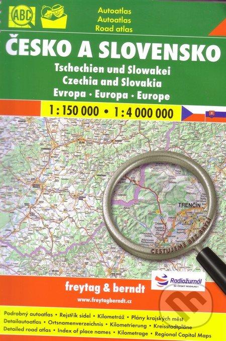 Česko a Slovensko 1:150 000 1:4 000 000 -