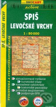 Spiš, Levočské vrchy 1:50 000 -