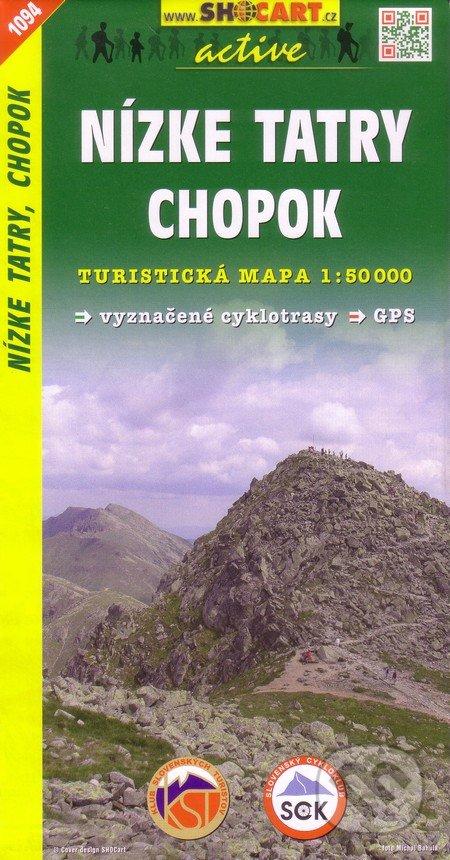 Nízke Tatry, Chopok 1:50 000 -