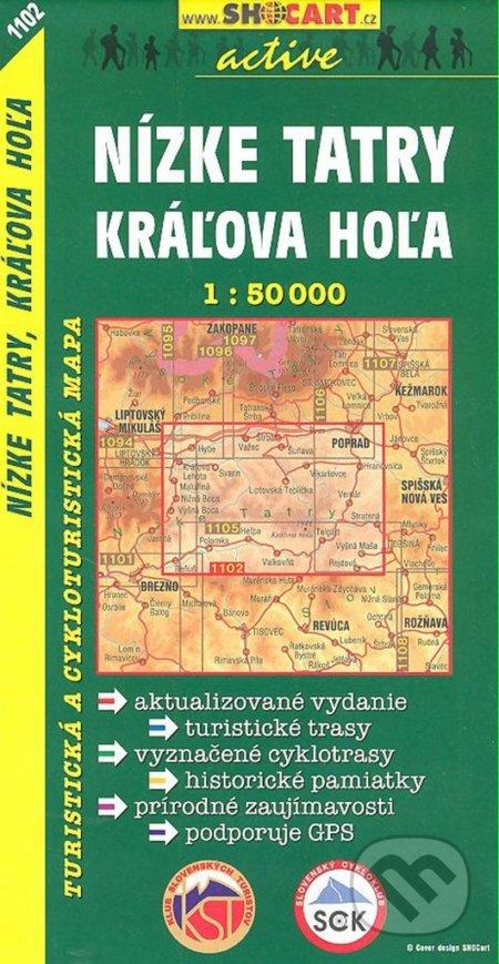 Nízke Tatry, Kráľova Hoľa 1:50 000 -