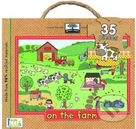 On The Farm: Giant Floor Puzzle -