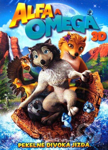 Alfa a Omega 3D + 2D DVD