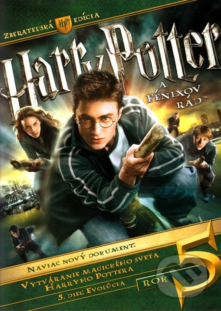Harry Potter a Fénixov rád DVD