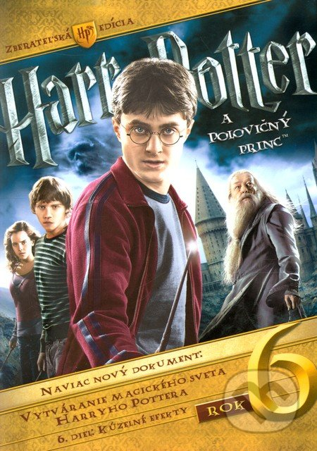 Harry Potter a Polovičný princ DVD
