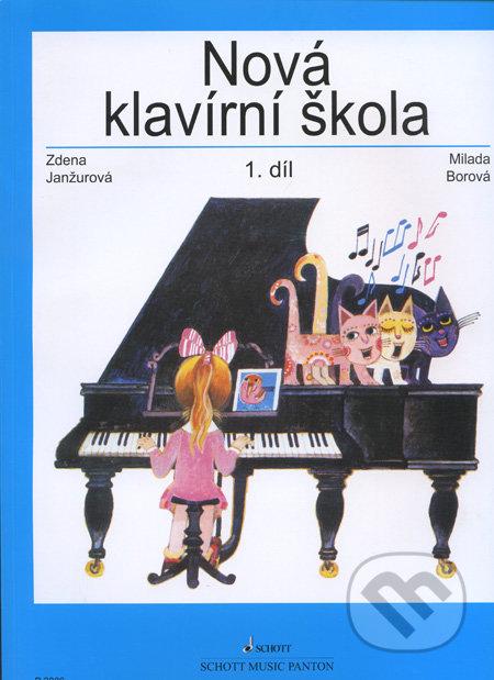 Nová klavírní škola (1. díl) - Zdena Janžurová, Milada Borová