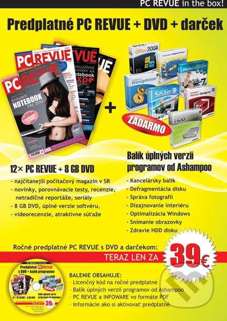 PC REVUE in the BOX -