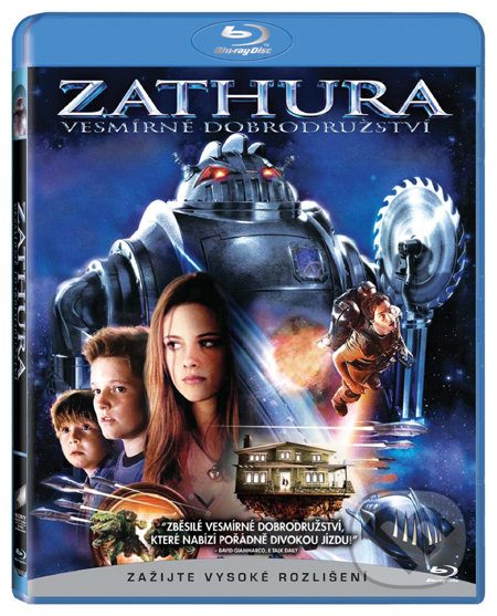 Zathura: Vesmírné dobrodružství BLU-RAY