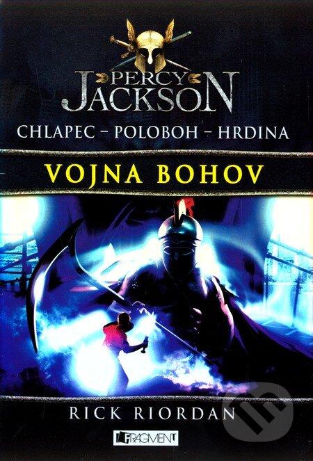Percy Jackson 5: Vojna bohov - Rick Riordan