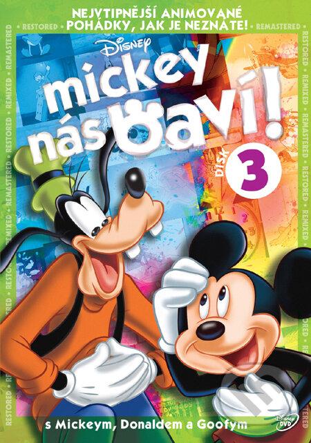 Mickey nás baví! - 3 DVD