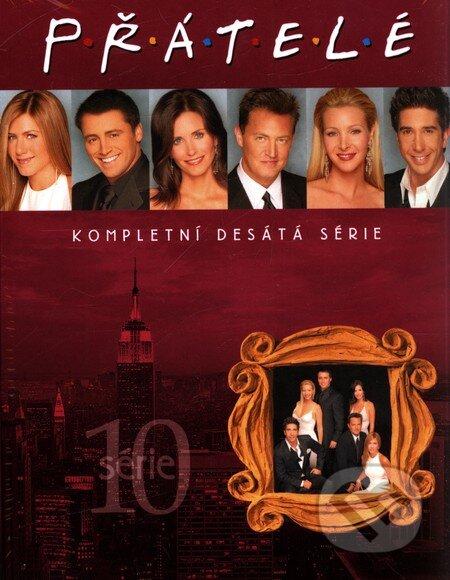 Přátelé - 10. série DVD