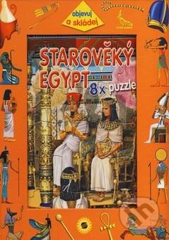 Starověký Egypt - 8x puzzle -