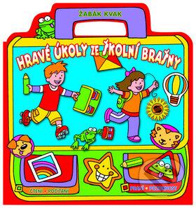 Hravé úkoly ze školní brašny: Žabák Kvak -