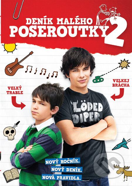 Deník malého poseroutky 2 DVD